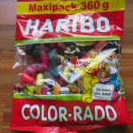 Haribo  Color-Rado  maxipack 360g von Aldi.